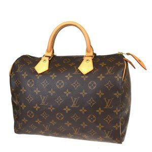 LOUIS VUITTON Speedy 30 Travel Hand Bag Monogram